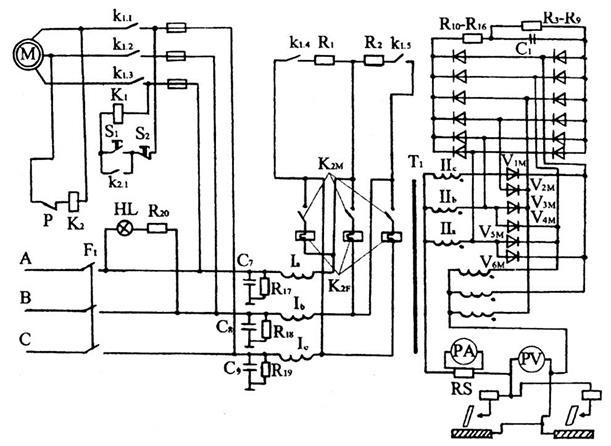 Схема подключения сварочного аппарата вдм сварочный аппарат постоянного тока вд 306