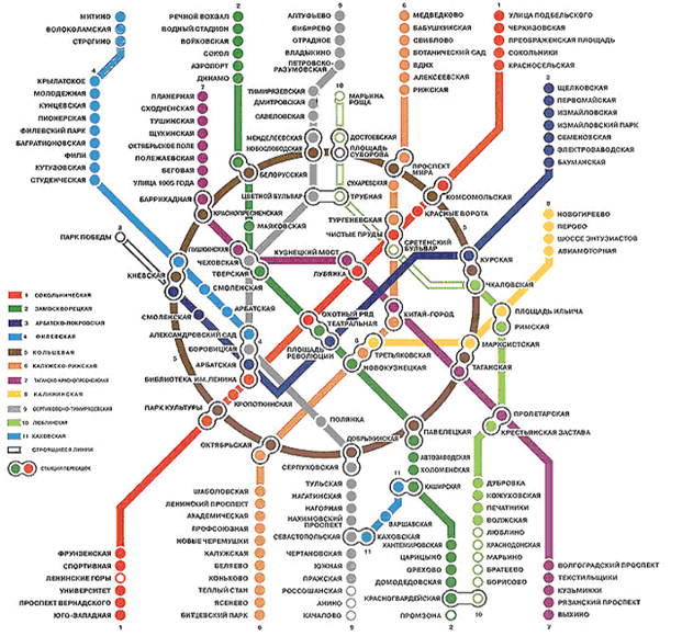 Метро москвы планы строительства схема
