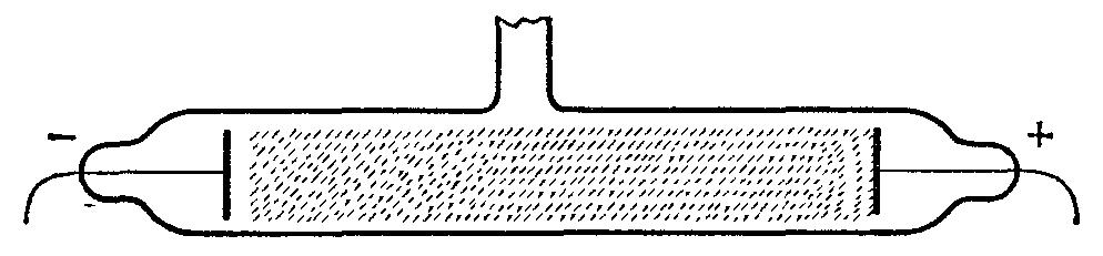 Схема устройства коронного разряда