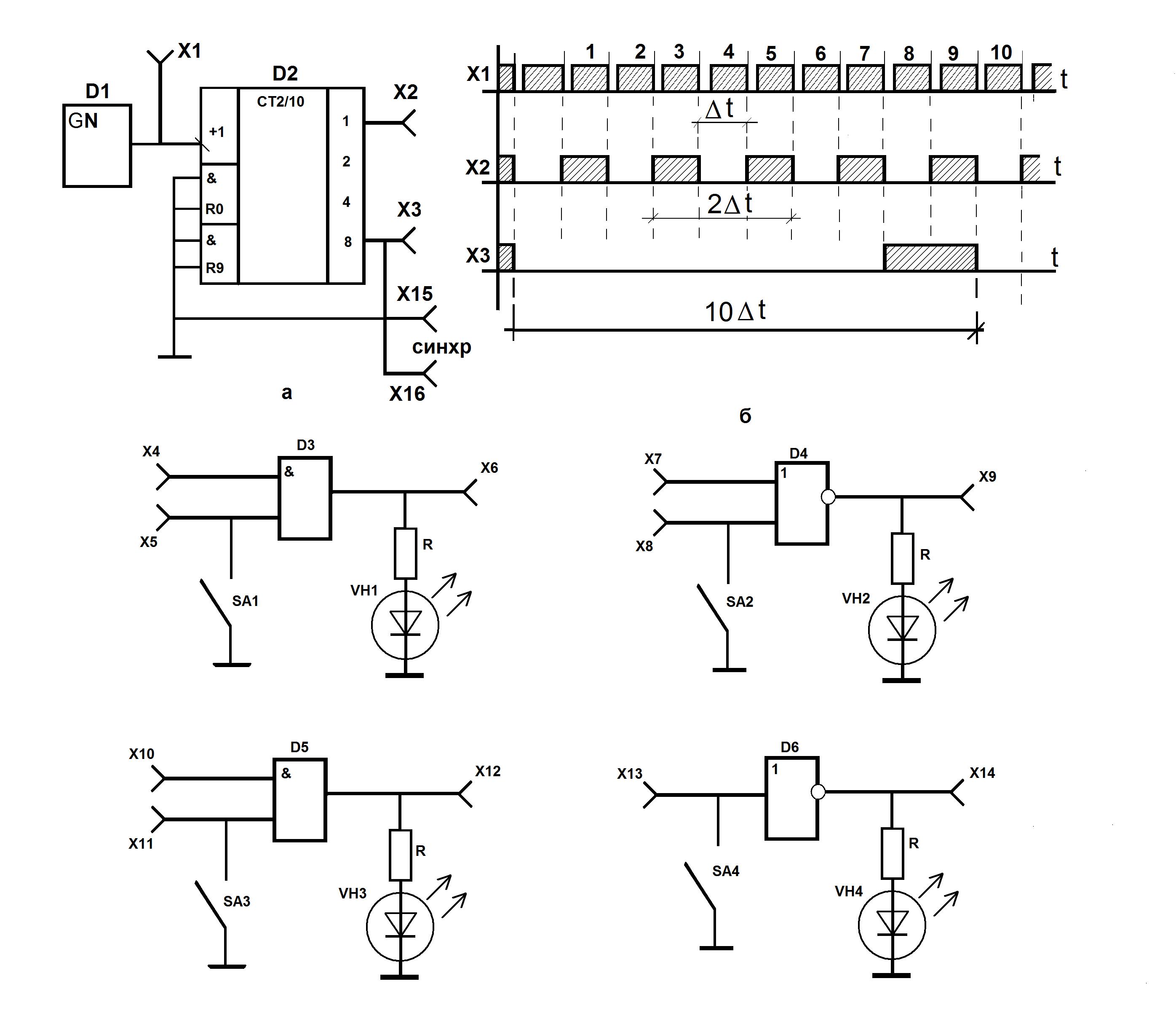 реализация булевых функций релейно контактными схемами