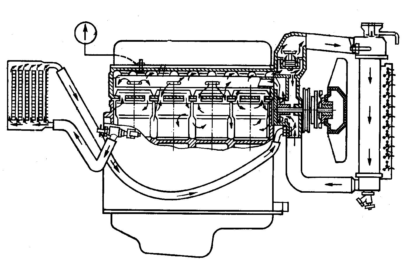 выключатель гидромуфты привода вентилятора схема фото