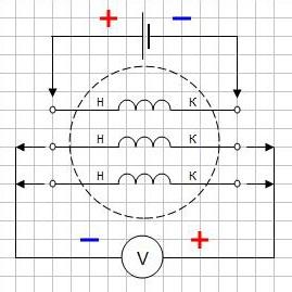 Как найти начало и конец обмотки электродвигателя