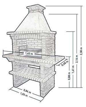 Мангал из камня своими руками пошаговая инструкция